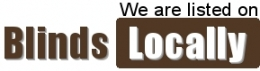 We are listed on Blinds locally